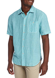 Tommy Bahama Sand Linen Button Down Shirt