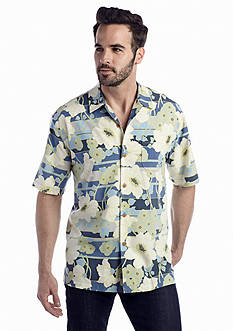 Tommy Bahama® Short Sleeve Beaucoup Blooms Woven Shirt