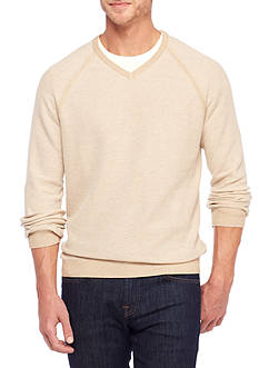 Tommy Bahama Make Mine A Double Reversible V-Neckline Sweater
