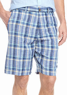 Tommy Bahama® Port Madras Plaid Shorts