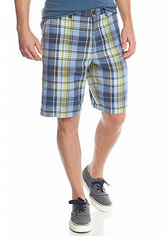 Tommy Bahama® Moulin Madras Plaid Shorts