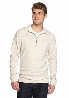 Tommy Bahama Reversible Slubtropic Half Zip Sweater