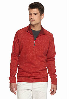 Tommy Bahama® Reversible Slubtropic Half Zip Sweater