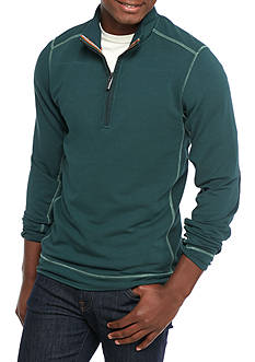 Tommy Bahama Ben & Terry Quarter Zip Sweatshirt
