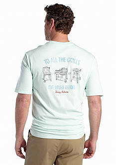 Tommy Bahama® Short Sleeve 'To All The Grills' Graphic Tee