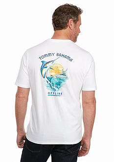 Tommy Bahama® Short Sleeve 'Offline Marline' Tee