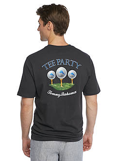 Tommy Bahama Golf Tee Party Graphic Tee