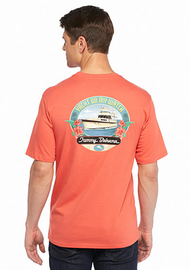 Tommy Bahama® Yacht On My Watch Short Sleeve Graphic Tee