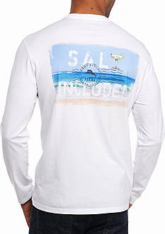 Tommy Bahama Salt Included Long Sleeve Graphic Tee