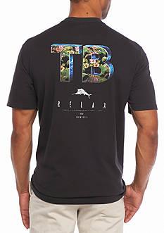 Tommy Bahama Flora Borealis Short Sleeve TB Graphic Tee