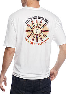 Tommy Bahama Short Sleeve Let The Good Times Roll Graphic Tee