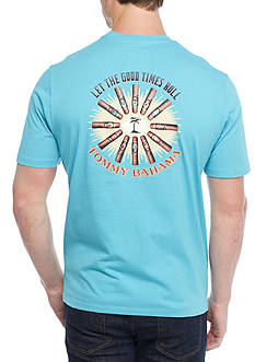 Tommy Bahama® Short Sleeve Let The Good Times Roll Graphic Tee