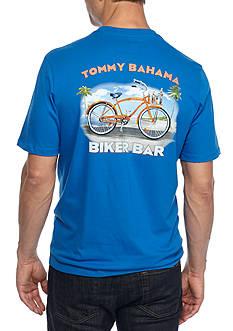Tommy Bahama Short Sleeve Biker Bar Graphic Tee