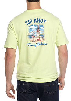 Tommy Bahama Sip Ahoy Short Sleeve Graphic Tee