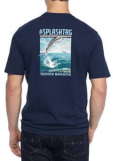 Tommy Bahama Splash Tag Short Sleeve Graphic Tee