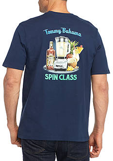 Tommy Bahama Spin Class Short Sleeve Graphic Tee