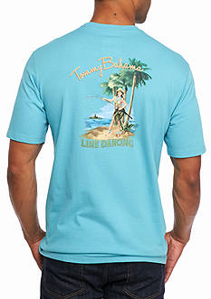 Tommy Bahama Line Dancing Short Sleeve Graphic Tee
