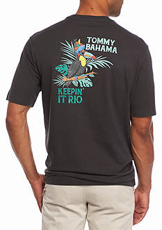 Tommy Bahama Keeping It Rio Short Sleeve Graphic Tee