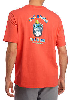 Tommy Bahama Isle Bring The Rum Graphic Tee Shirt