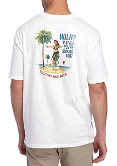 Tommy Bahama Hula Is It Me Your Looking For Graphic Tee Shirt