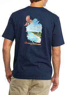 Tommy Bahama Been There Drone That Graphic Tee Shirt