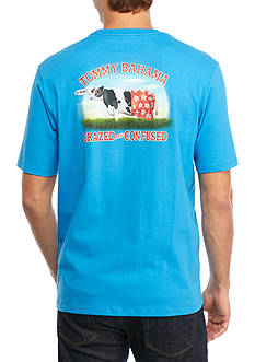 Tommy Bahama Grazed and Confused Graphic Tee Shirt