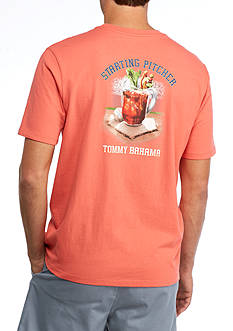 Tommy Bahama Starting Pitcher Graphic Tee Shirt