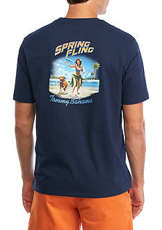 Tommy Bahama Spring Fling Graphic Tee Shirt