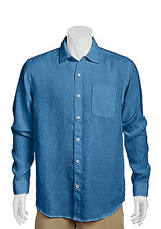 Tommy Bahama® Long Sleeve Sea Glass Breezer Woven Shirt