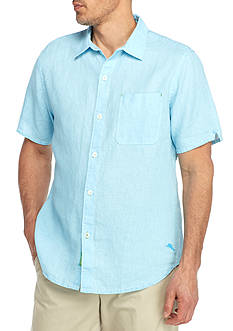 Tommy Bahama Short Sleeve Sea Glass Breezer Shirt