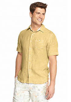 Tommy Bahama Short Sleeve New Party Breezer Woven Shirt