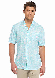 Tommy Bahama Short Sleeve Belleville Botanical Breezer Shirt