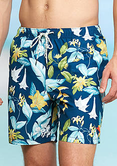 Tommy Bahama Naples Brego Blooms Floral Print Swim Trunks