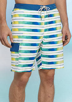 Tommy Bahama Baja Aquarela Stripe Swim Trunks