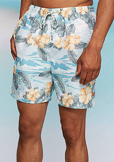Tommy Bahama® Naples Camo Tiles Swim Trunks