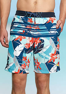 Tommy Bahama Baja Carnival Gardens Swim Trunks