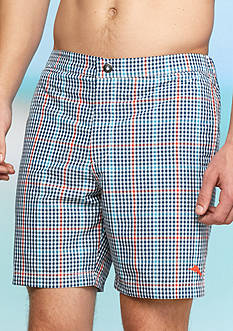 Tommy Bahama Coasta Rio Plaid Swim Trunks