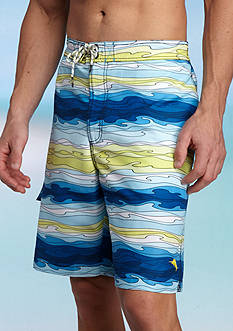 Tommy Bahama Baja Aegean Printed Swim Trunks