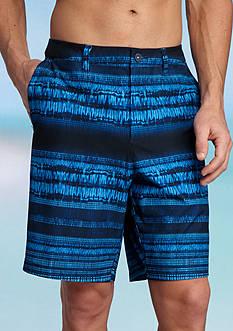 Tommy Bahama Cayman Tripoli Tie Dye Printed Swim Trunks
