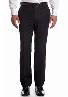 Calvin Klein Slim Fit Flat Front Suit Separate Pants