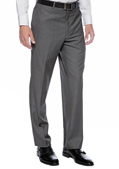 Calvin Klein Slim Fit Charcoal Neat Suit Separate Pants