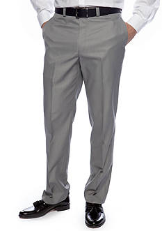 Calvin Klein Slim Fit Flat Front Dress Slacks