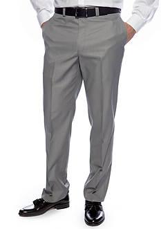 Calvin Klein Slim Fit Flat Front Dress Slacks