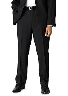 Calvin Klein Slim Fit Black Wool Suit Separate Pants