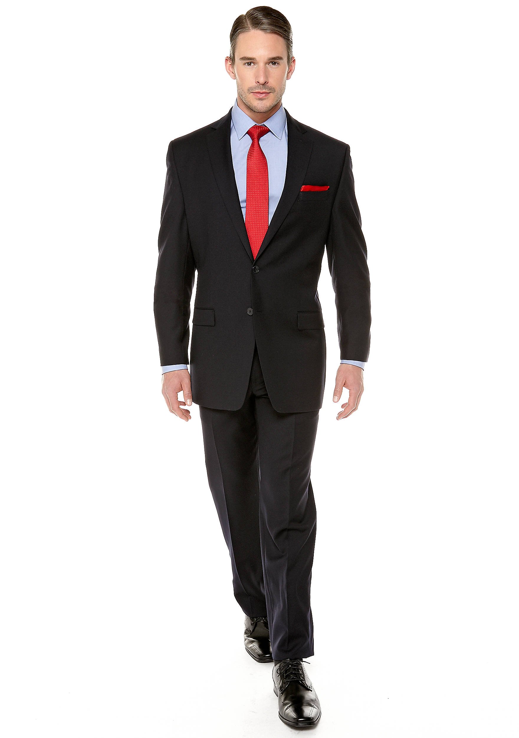 Calvin Klein Slim Fit Navy Suit | belk
