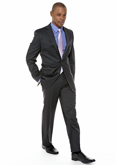 Calvin Klein Slim Fit Charcoal Suit