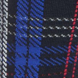 Chaps Men Sale: Multi/Black Plaid Chaps Soft Touch Cushion Crew Socks - 3 Pack
