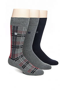 Chaps Soft Touch Cushion Crew Socks - 3 Pack