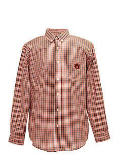 Vesi Auburn Tigers Tri-Color Check Woven Shirt