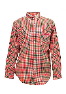 Campus Specialties NC State Wolfpack Tri-Color Check Woven Shirt
